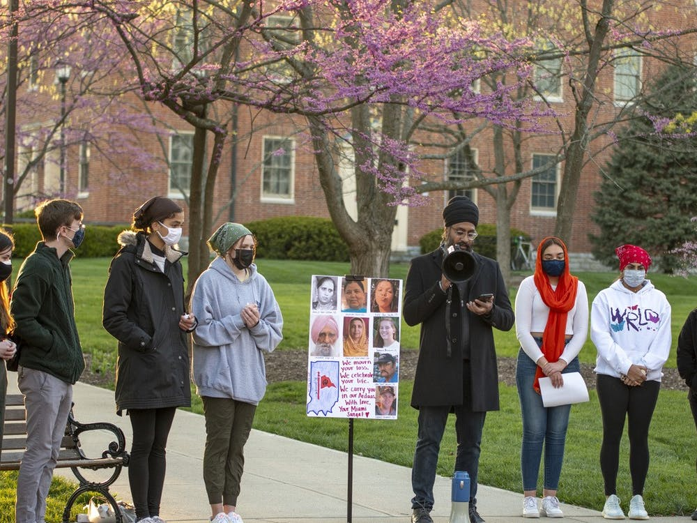 A variety of speakers expressed their emotions at the Sikh Student Association's vigil on Thursday.
