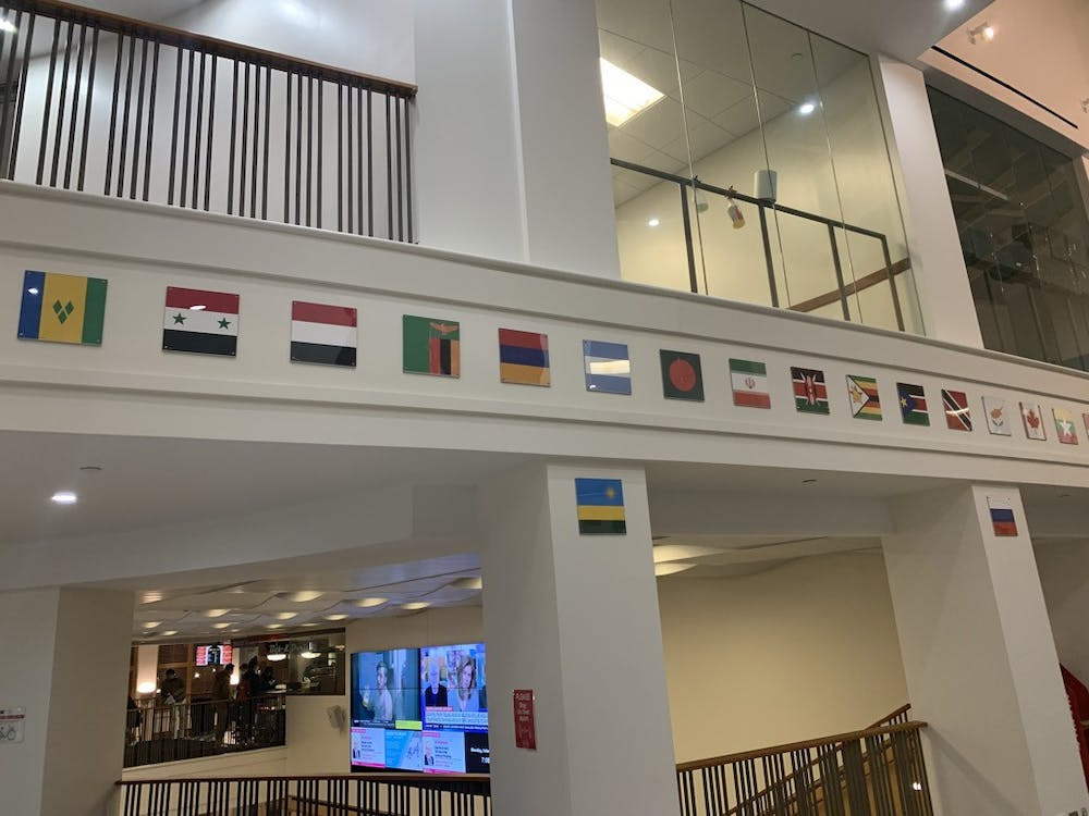Though small in size, the flags in Armstrong have the potential to be deeply important to Miamians from around the world. Photo by Tim Carlin.