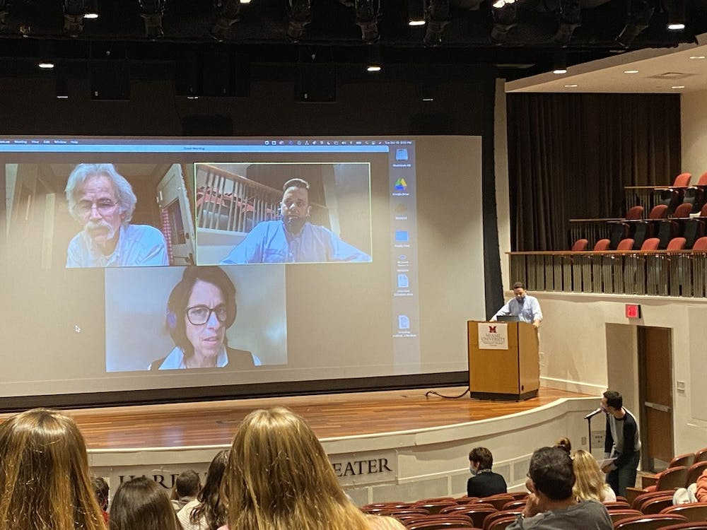 """The departments of MJF and history hosted a screening of """"Storm Lake"""" as well as a Q&A with the directors."""