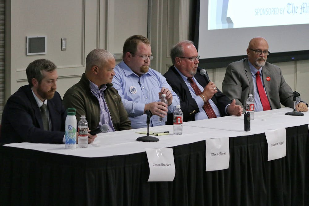 <p>A lack of variety in housing, Oxford and Miami University relations and environmental stability were all topics discussed at this years Oxford City Council debate. </p>