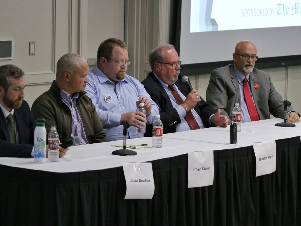 A lack of variety in housing, Oxford and Miami University relations and environmental stability were all topics discussed at this years Oxford City Council debate.