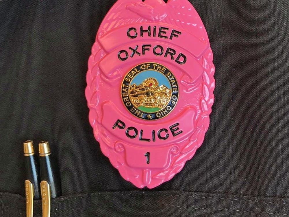 OPD held its second annual pink badge fundraiser.