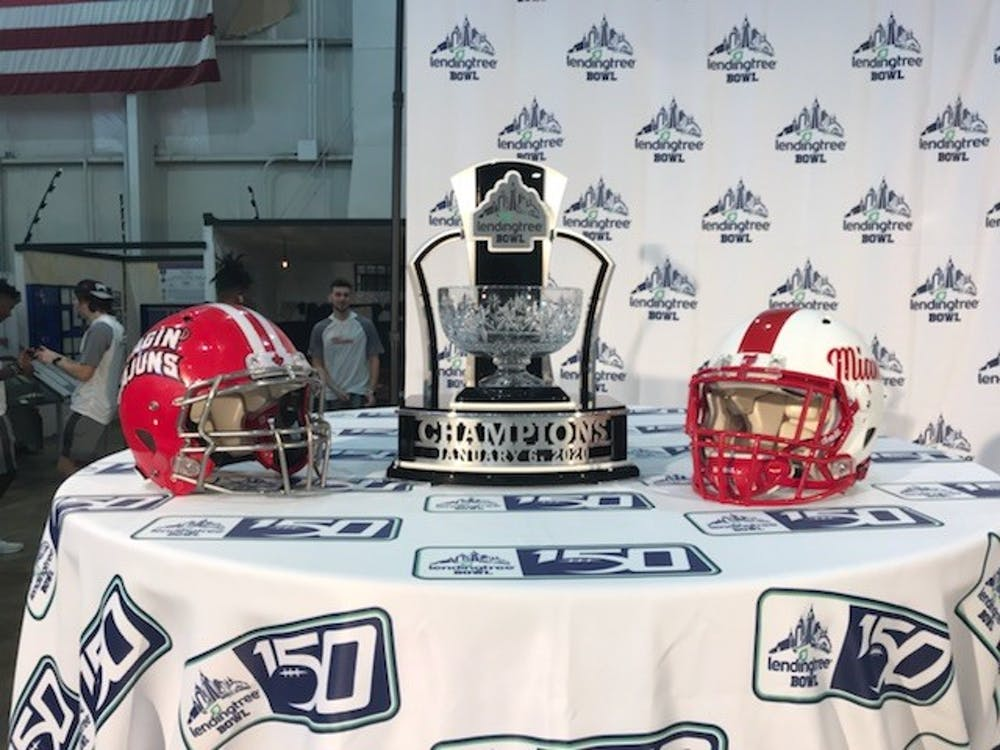 <p>Miami will battle Louisiana for the LendingTree Bowl trophy tonight, Jan. 6.</p>