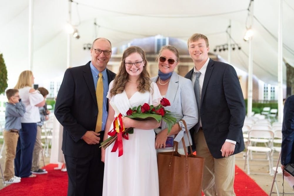 <p>Cameron Tiefenthaler has strived to make the best out of her first year at college despite being fully remote. </p>