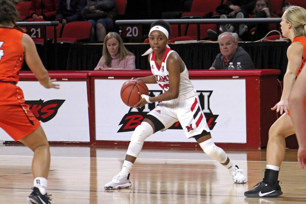 <p>In the final game of her college career on March 9, Lauren Dickerson recorded a team-high 22 points.</p>