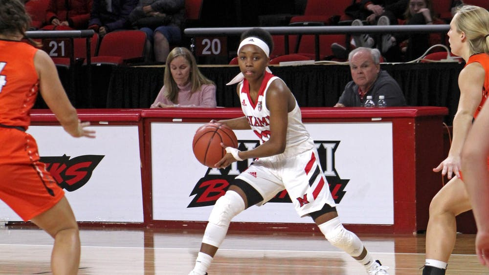 In the final game of her college career on March 9, Lauren Dickerson recorded a team-high 22 points.
