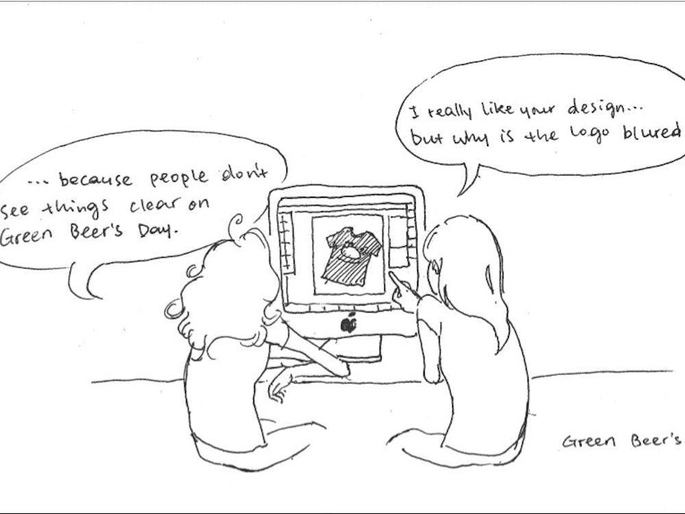 Cartoon by Jinghang Huang