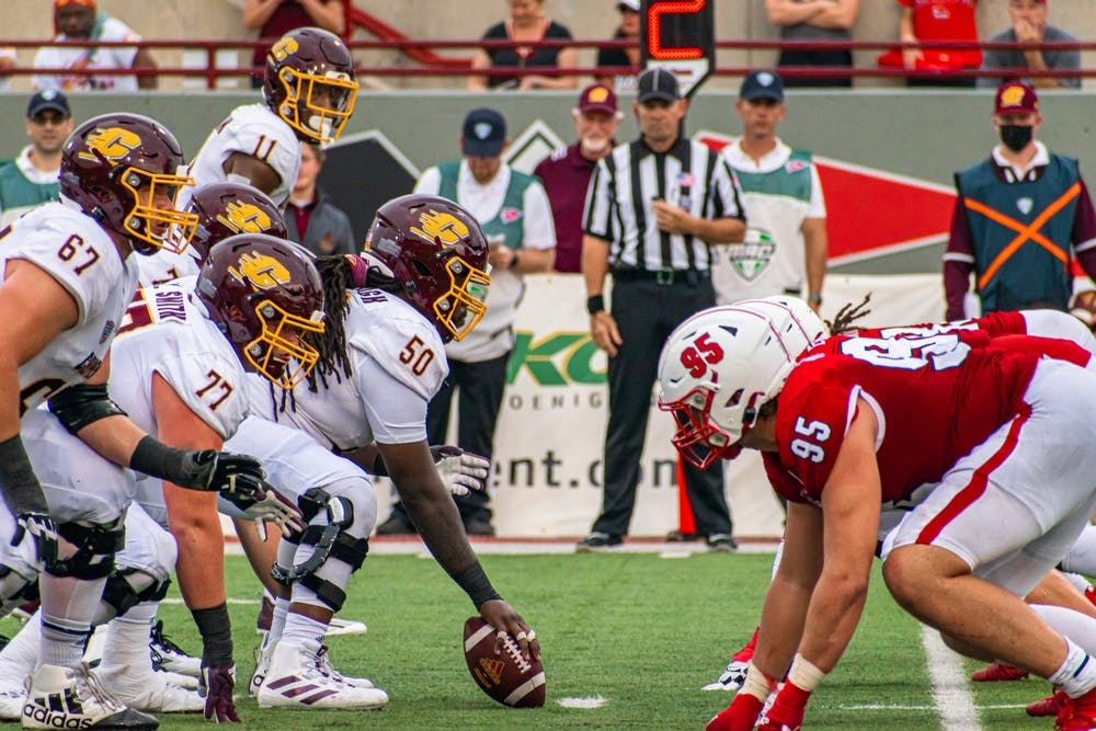 The Miami RedHawks defeated the Central Michigan Chippewas, 28-17, in Miami's first MAC contest of the season.