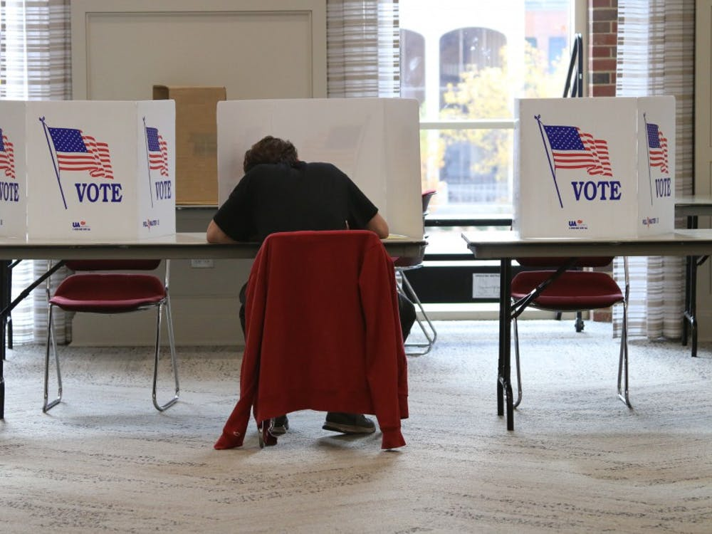 Elections went smoothly at Shriver Center Tuesday.