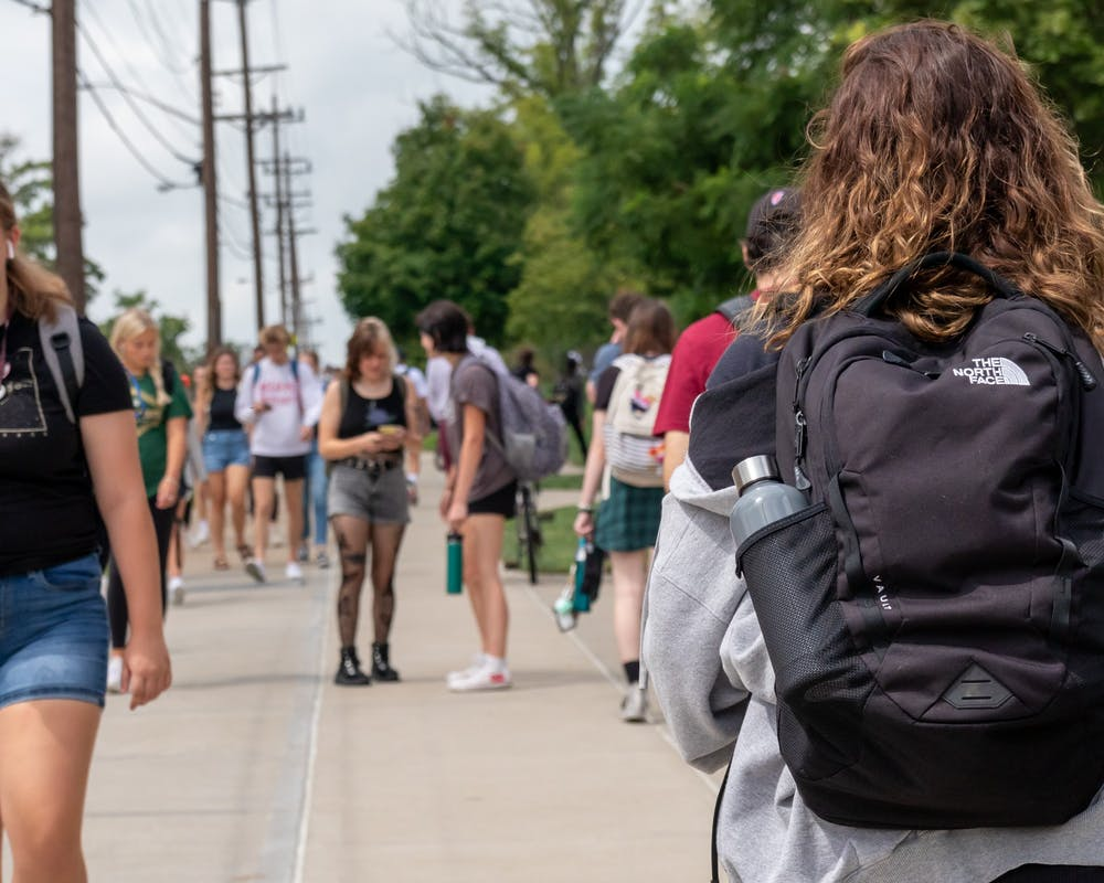 <p>Sophomores are getting used to being back on campus with the full Miami population.</p>