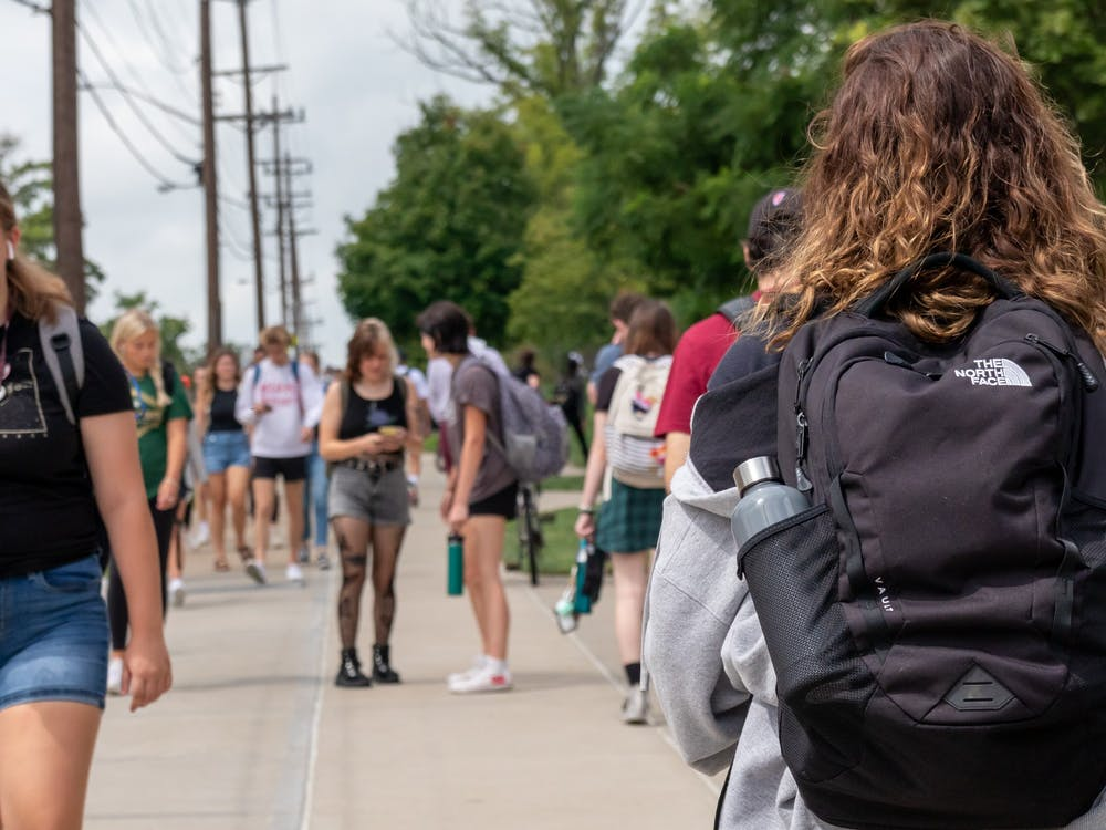Sophomores are getting used to being back on campus with the full Miami population.