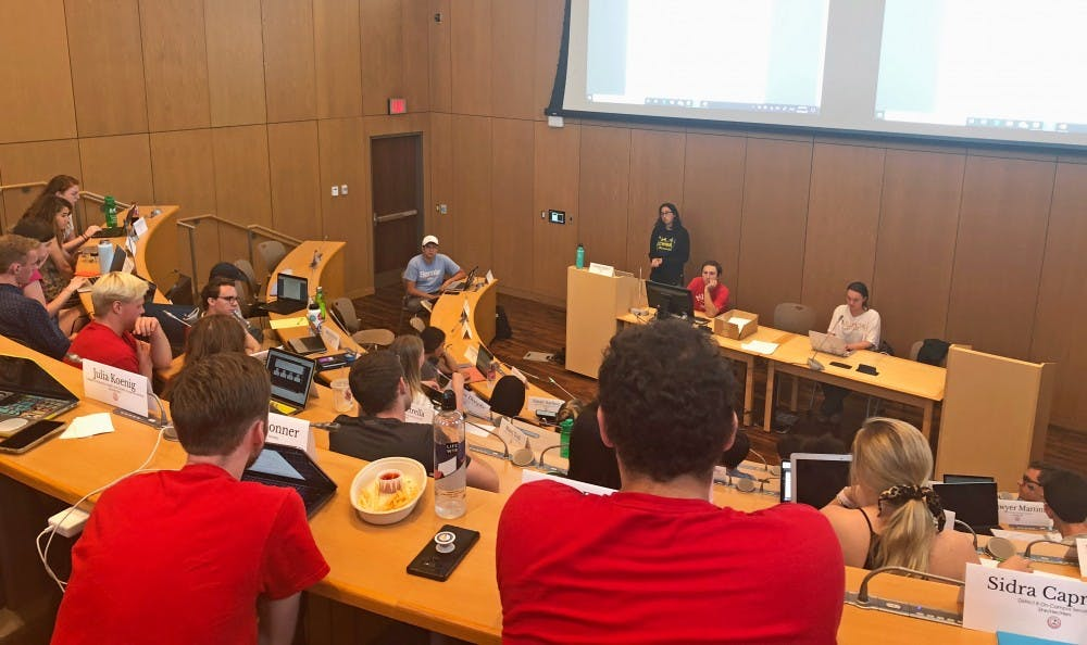 <p>Student organization funding was approved although ASG was over budget, and some organizations received more money than they requested. </p>
