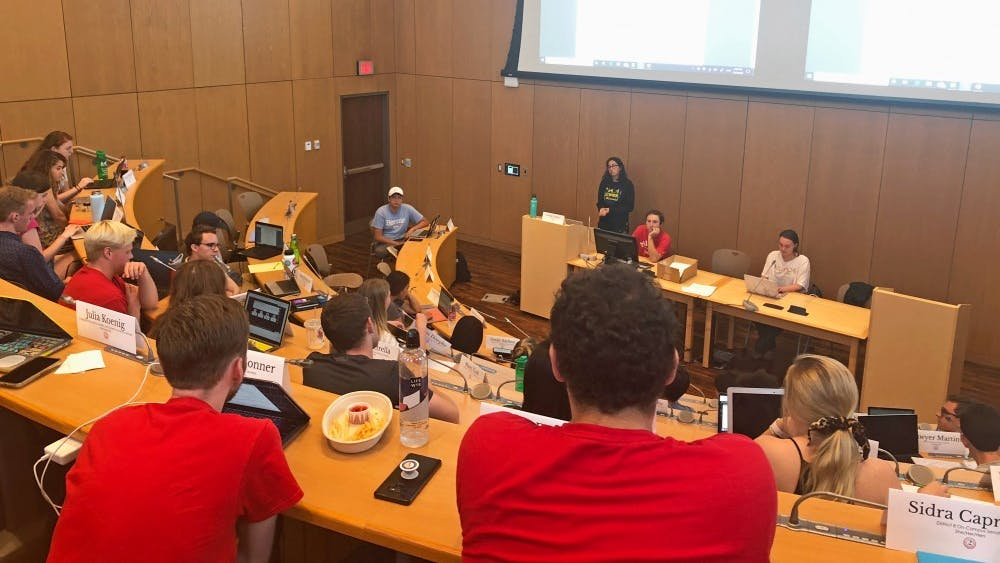 Student organization funding was approved although ASG was over budget, and some organizations received more money than they requested.
