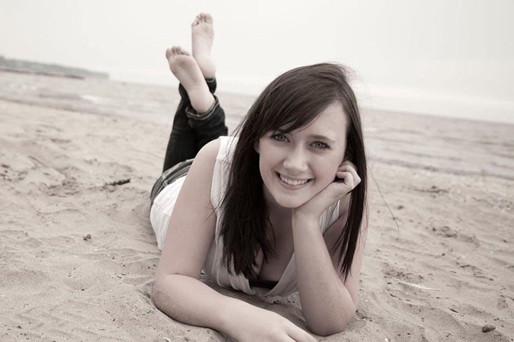 Former sophomore Jaclyn Wulf.