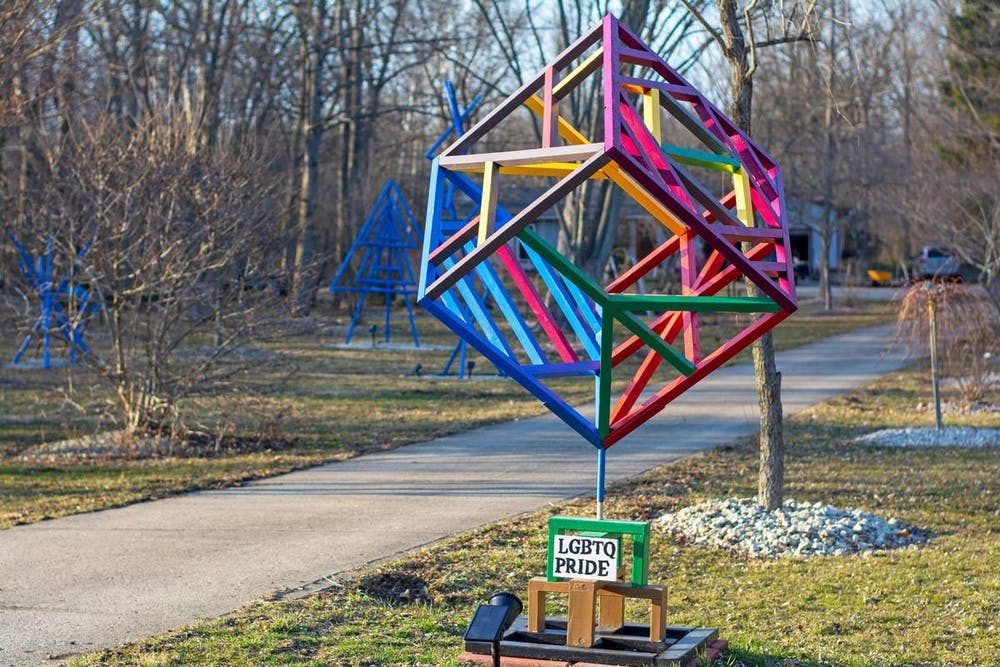 <p>Former philosophy professor Rick Momeyer creates and sells unique sculptures and donates the proceeds to various organizations.</p>