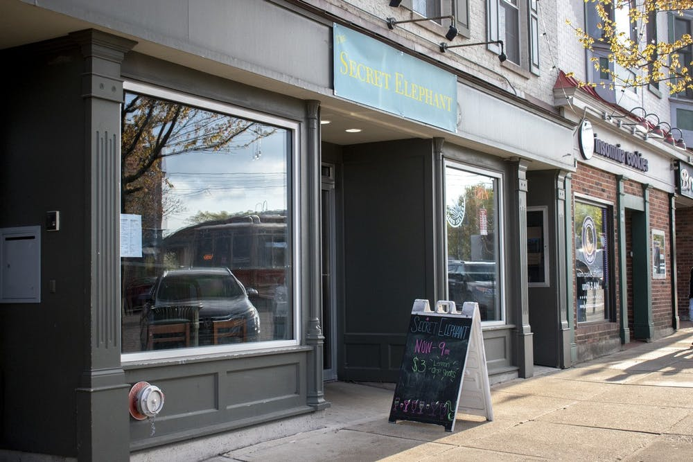 <p>Desi Durkin recently opened The Secret Elephant to replace the Wild Bistro, which closed due to financial constraints.</p>