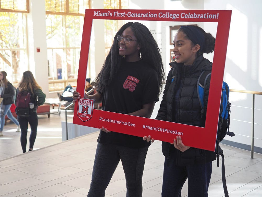 <p>On Nov. 8, Miami celebrated First Generation Student Day.</p>