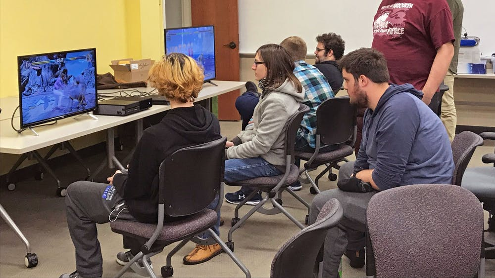 The Miami University Fighters Guild gathers in Benton Hall every other Saturday night for casual gaming.