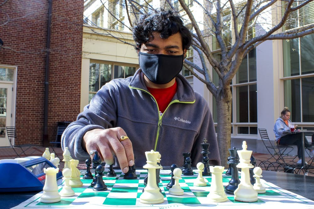 <p>Miami senior Ashutosh Pitkar recently won MAP&#x27;s chess tournament. He has been a fierce competitor since he was 7 years old.</p>