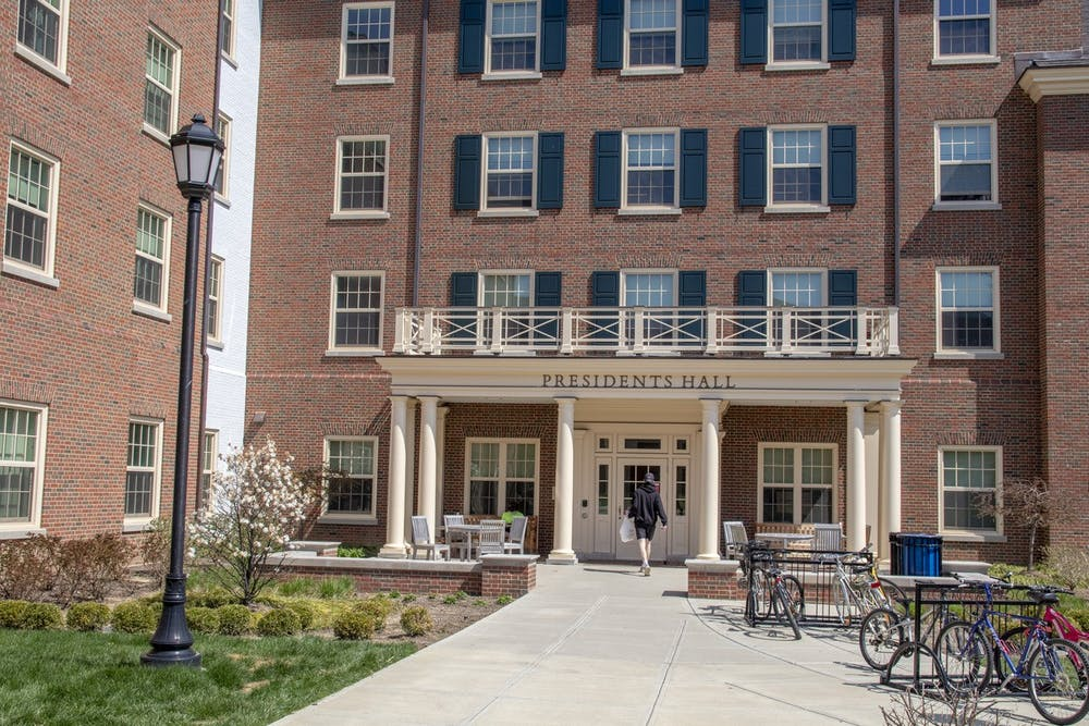 <p>Presidents Hall will be renamed later this year.</p>