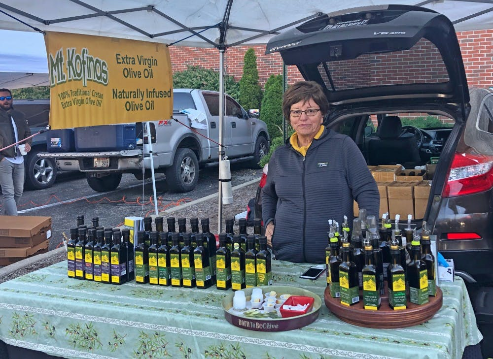 <p>Evie Semertzides was born in Greece and was inspired by her family&#x27;s olive trees to start an olive oil business.</p>