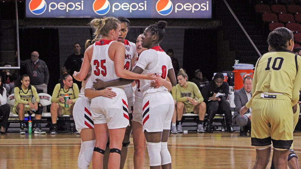 After enduring some struggles under first-year head coach DeUnna Hendrix, the RedHawks won't have it any easier next season. They are tasked with replacing their two best players, Lauren Dickerson and Savannah Kluesner.