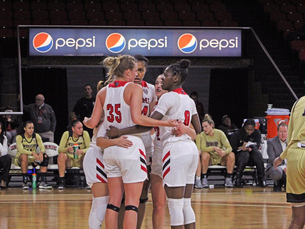 After winning three straight games, Miami has lost four straight. The RedHawks have only four games to prep for the conference tournament and send their seniors out on a positive note.