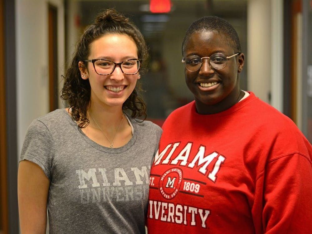 Kamara (pictured right) became the first female black student body president at Miami this spring, how has she adjusted to the pandemic?