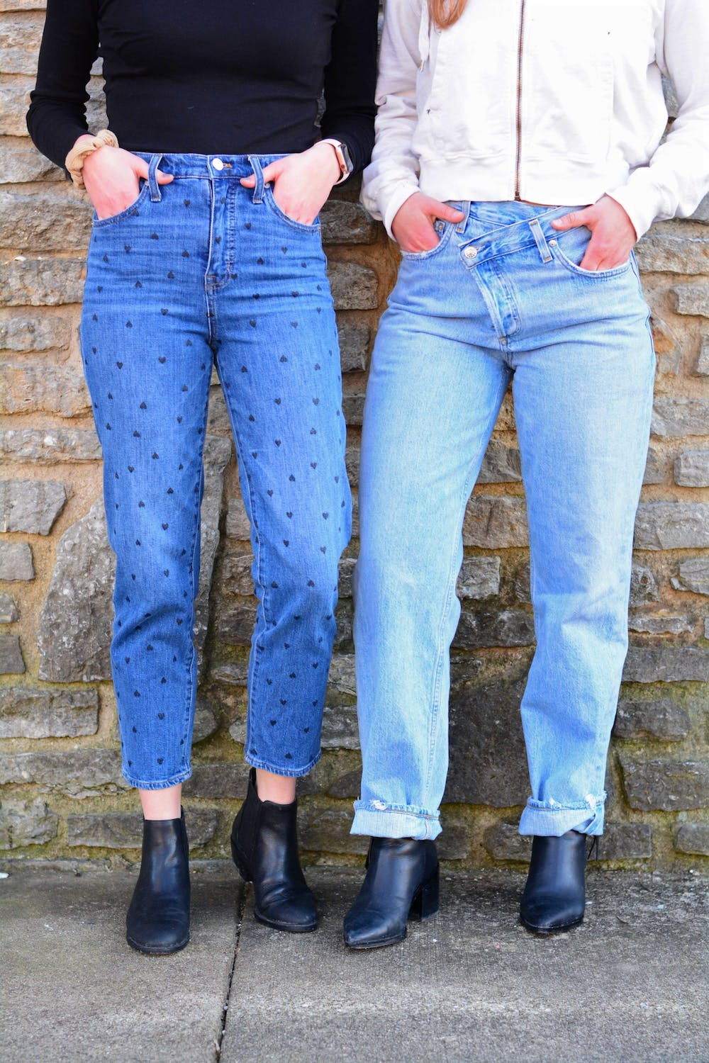 <p>Denim. It&#x27;s not just for going out anymore.</p>