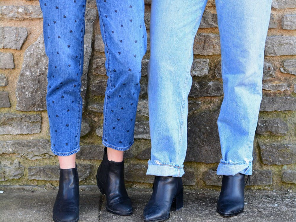 Denim. It's not just for going out anymore.