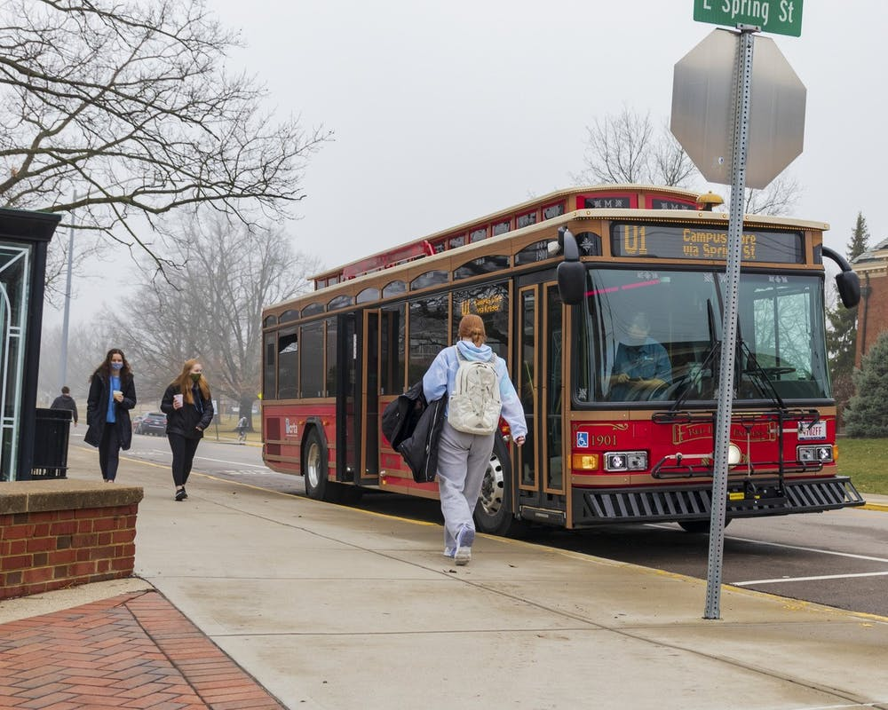 <p>Thanks to funding from Miami, BCRTA&#x27;s routes are free for students and community members.</p>