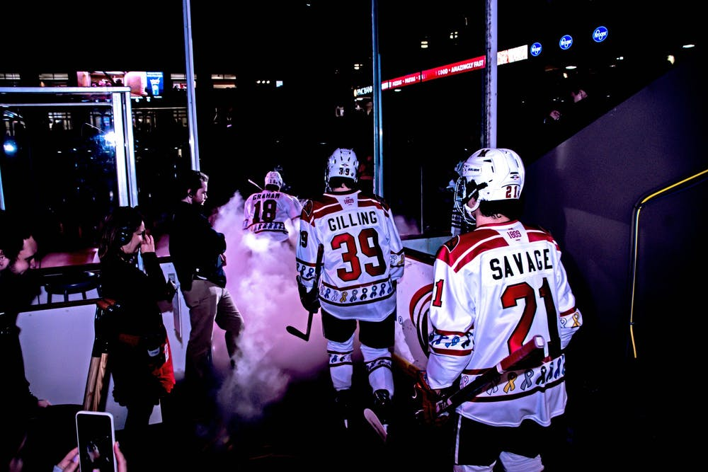 <p>After a weekend away from the ice, the RedHawks are back in action this weekend, when the Western Michigan Broncos come to the Goggin Ice Center.</p>