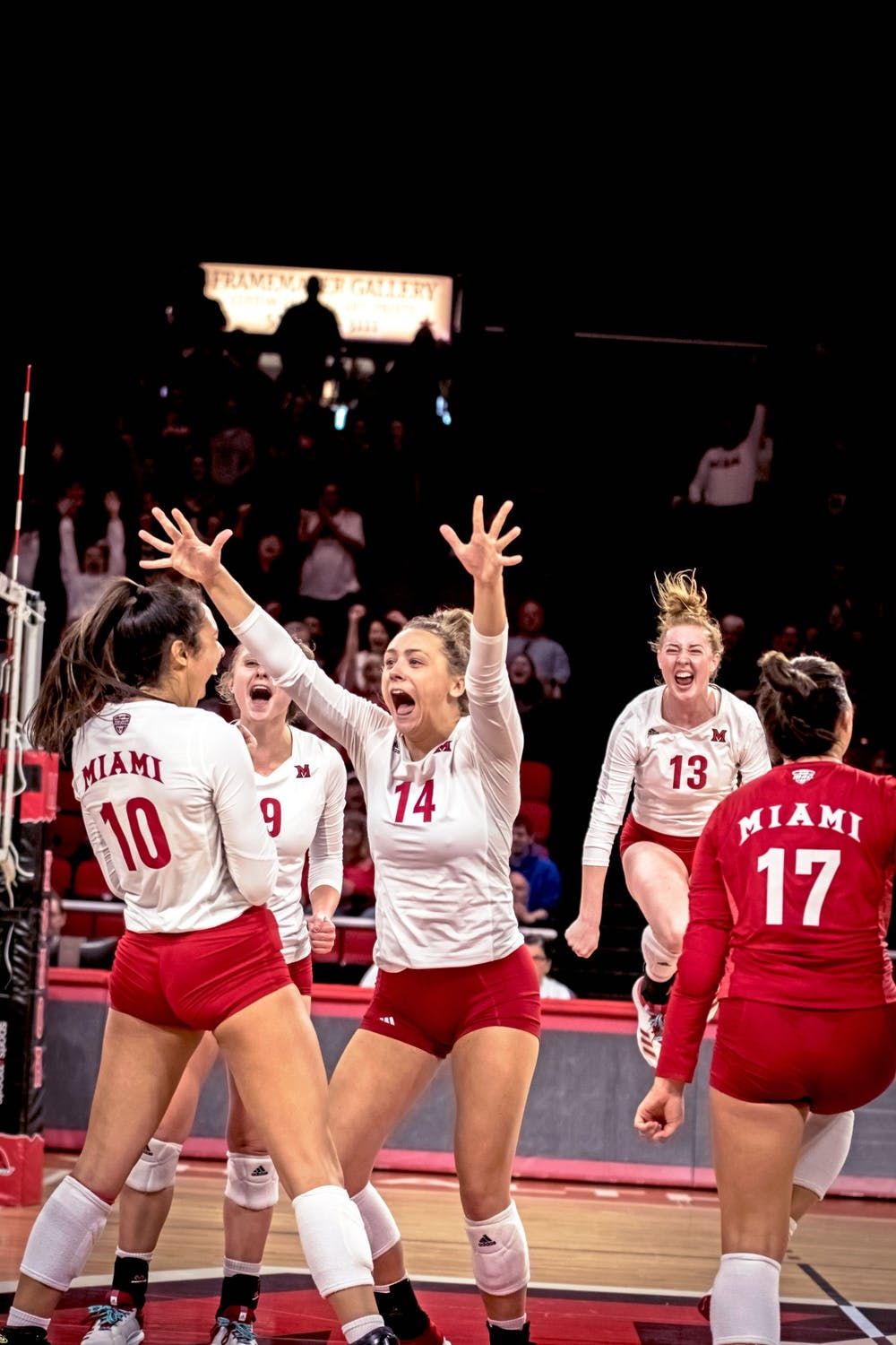 <p>The RedHawks hold a 17-11 (12-4 MAC), as they head into the National Invitational Volleyball Tournament.</p><p><br/><br/><br/><br/><br/><br/></p>