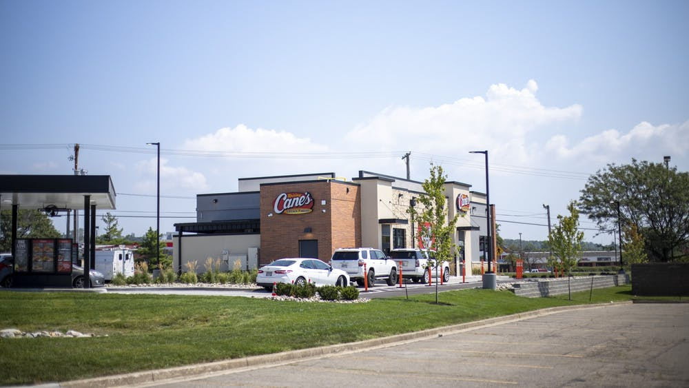 A new Raising Cane's recently opened in Hamilton, but many Miami students wish it was closer to campus.