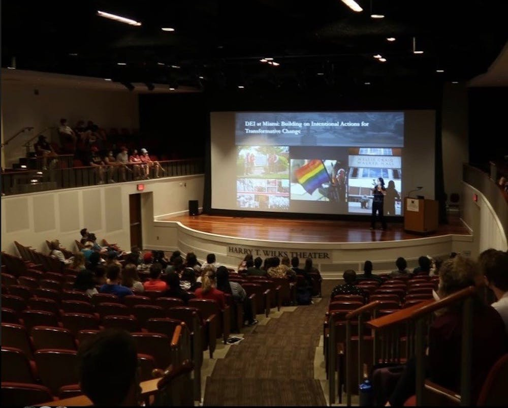 <p>Miami&#x27;s ASG and DAC jointly hosted the third annual Inclusion Forum, which featured presentations from a number of student organizations and a panel moderated by The Miami Student.</p>