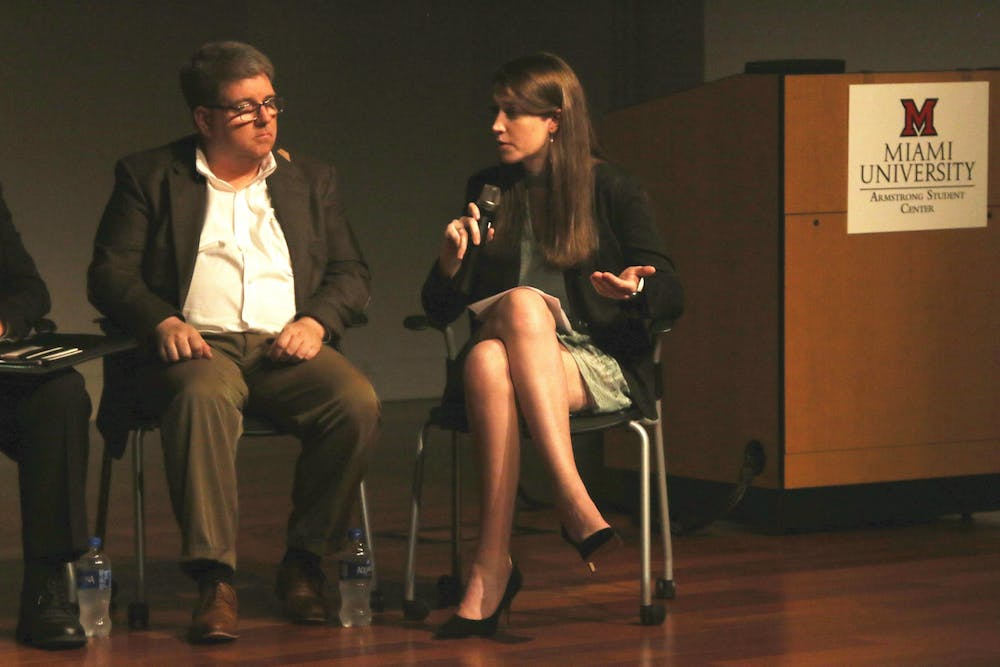 <p>Recently chosen Oxford mayor Mike Smith attended The Miami Student&#x27;s public health and safety forum, City Matters, in February 2018.</p>