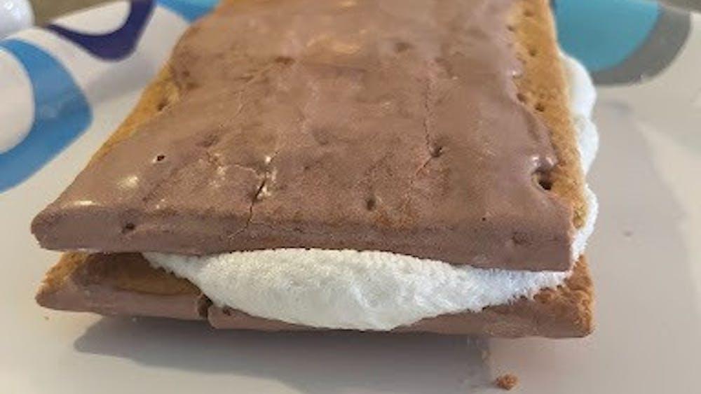 S'mores Pop Tart sandwich