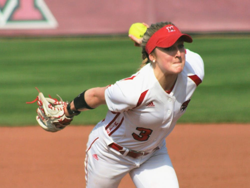 Senior pitcher Taylor Rathe had a 3.15 ERA in last year's pandemic-shortened season