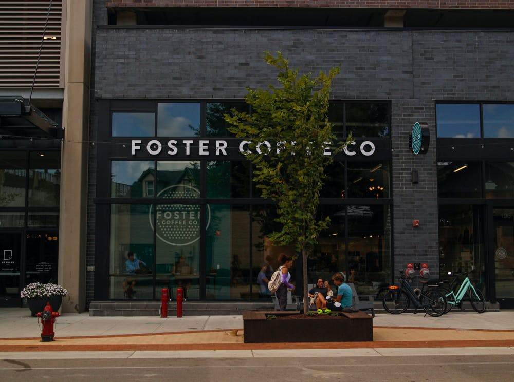 Foster Coffee Co. is another great place for coffee and studying off campus.