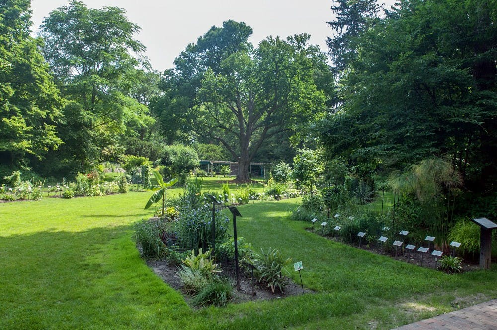 <p>The W.J. Beal Botanical Garden has recently been recognized as one of the top 50 college arboretums or gardens in the United States. Ryan Squanda/The State News</p>