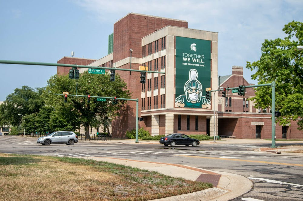 <p>MSU&#x27;s campus on Aug. 26, 2020.</p>