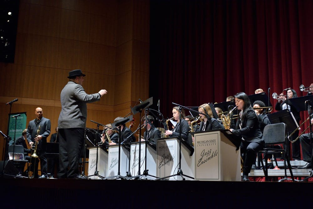 <p>Orchestra performance courtesy of MSU College of Music, Jazz Studies.12/5/14 </p>