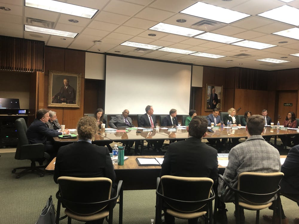 <p>The Board of Trustees begins their Feb. 14 meeting. This was the first meeting of 2020. </p>