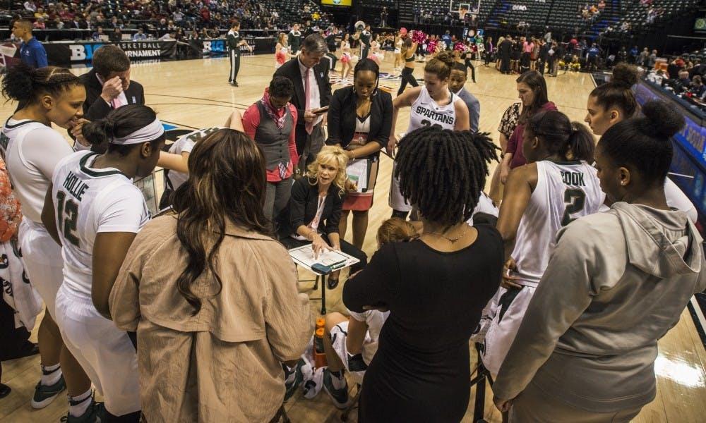 Women's Basketball vs. Maryland 3:4:17
