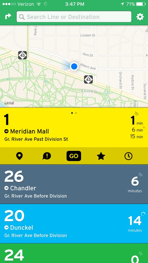 Real Time Travel Tracking Map App