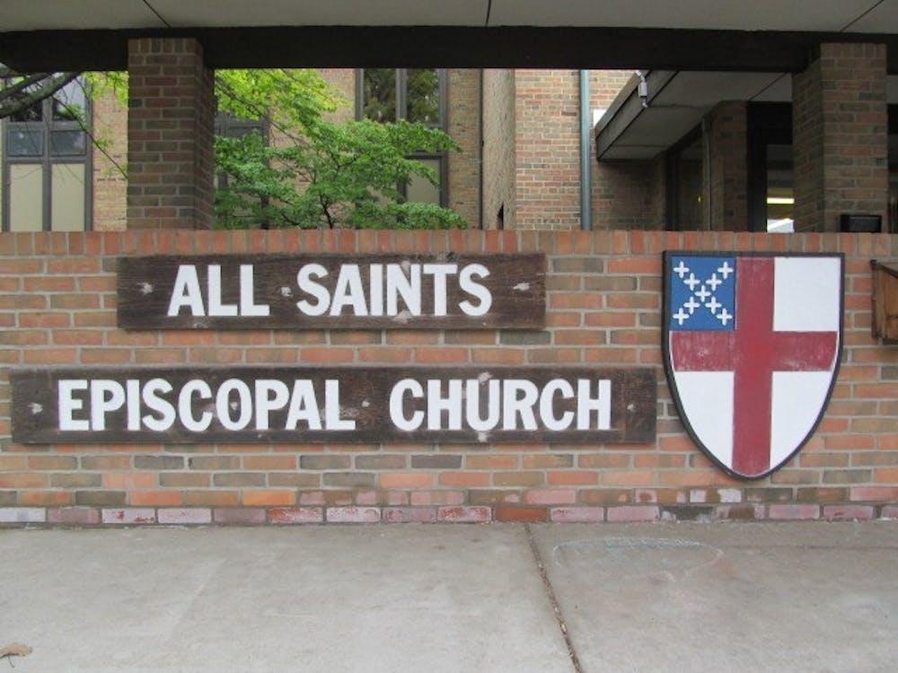 <p>All Saints Episcopal Church at800 Abbott Rd, East Lansing, MI 48823</p>