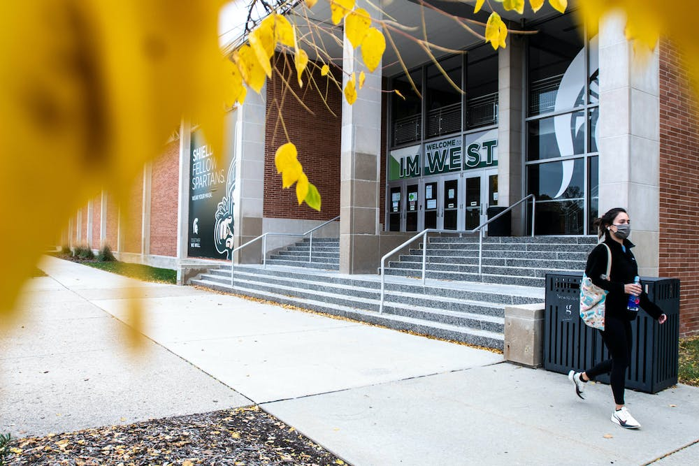 IM West on Oct. 26, 2020. The Gym is briefly reoppening to students until Thanksgiving.