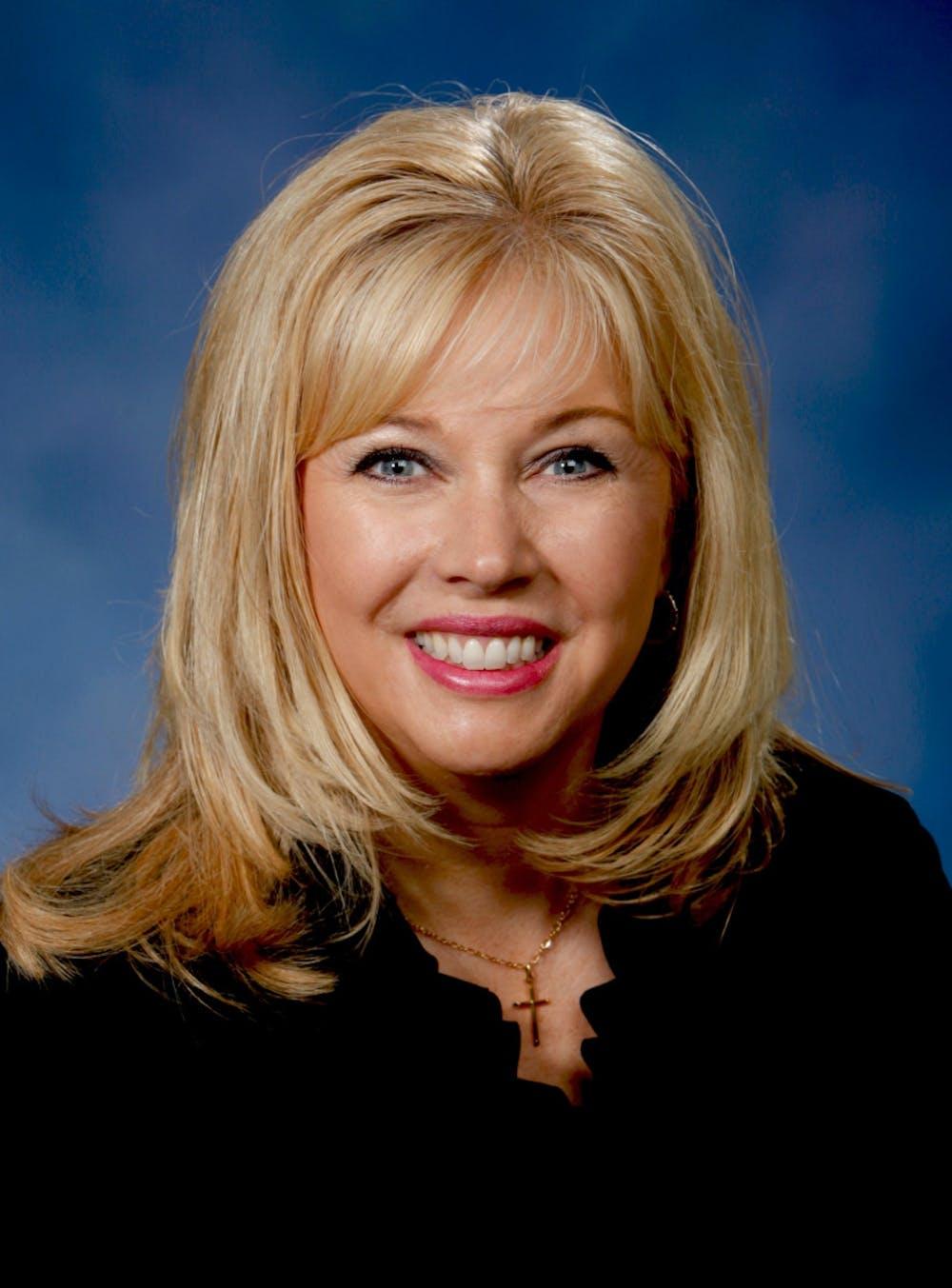 <p>Former MSU Board of Trustee nominee and co-director of Michigan Political Leadership Program Tonya Schuitmaker is pictured. Photo courtesy of Tonya Schuitmaker.</p>