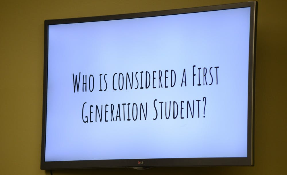 A presentation slide presented during the ASMSU round table discussion event at the Student Services Building on November 5, 2019.