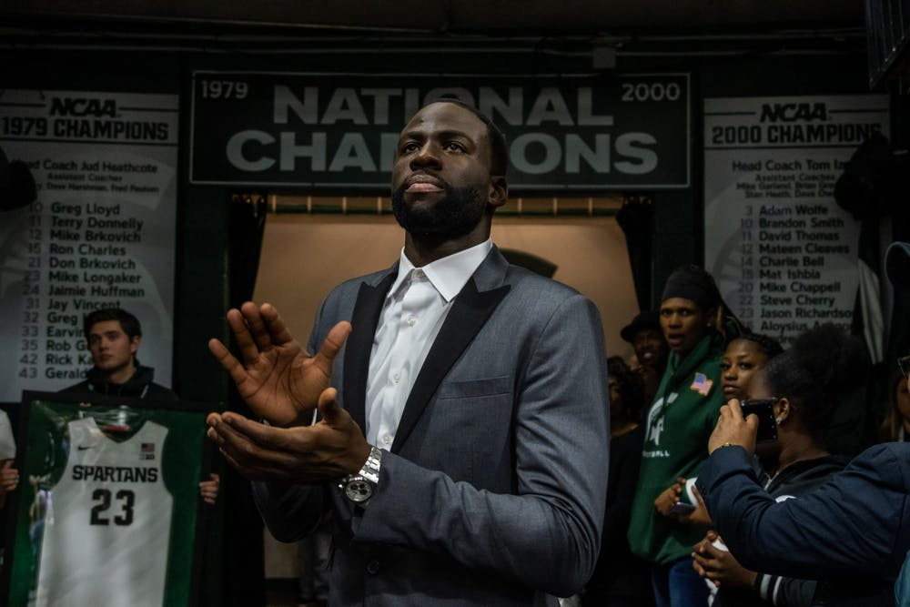 Izzo Embarrassed By Spartan Performance In Front Of Msu Legend Draymond Green The State News